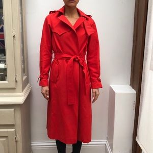 Maje trench coat size 38